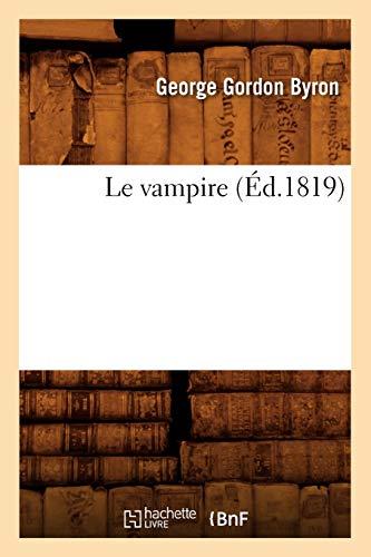 Le Vampire (Éd.1819) (Litterature)