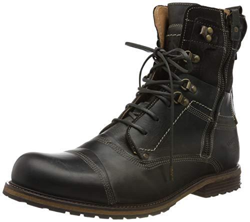Yellow Cab Herren Soldier 6-c Y18017 Biker Boots, Grau (Grey 1000), 45 EU