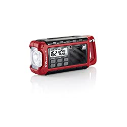 Midland ER200 Emergency AM FM Digital NOAA Weather Radio with Cree LED Flashlight and USB Charger Output