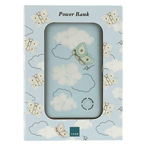THUN ® - Power Bank Linea Pioggia di Colori - 6x10x0,7 cm