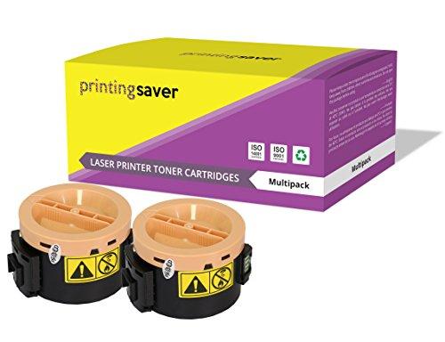 Printing Saver M1400/MX14 NERO (2) Toner compatibili per EPSON AcuLaser M1400, MX14, MX14NF
