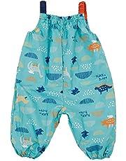 小川(Ogawa) キッズプレイウェア 子供 お砂場着 90cm クッカヒッポ ダイナソー 汚れにくい 裾にゴム付き はっ水 バック型収納袋付 83286