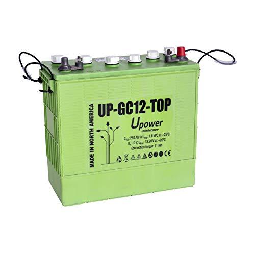 Master U-Power UP-GC12TOP Batería Solar, Ciclo Profundo GC12TOP 260AH 12V