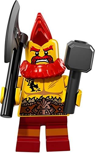 LEGO 71018 Minifigures Serie 17 - Figura de enano de batalla