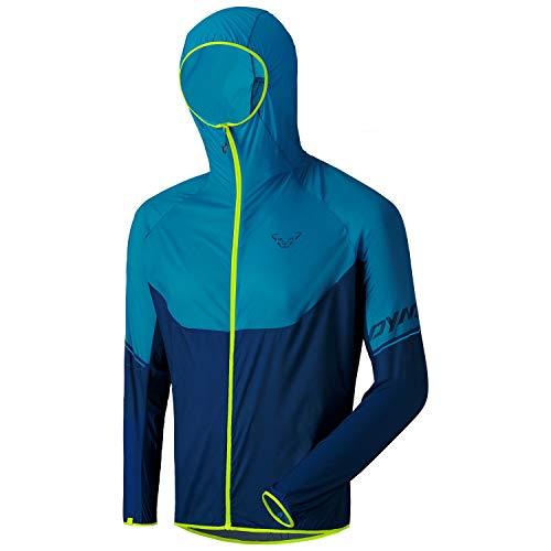DYNAFIT M Vertical Wind 72 Jacket Blau, Herren Jacke, Größe L - Farbe Mykonos Blue