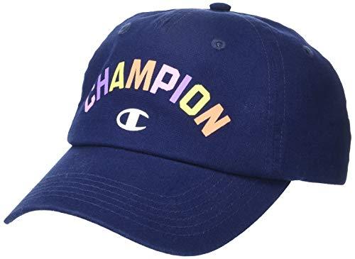 Champion Unisex-Erwachsene Shuffle Kappe, Marineblau-Mix, Einheitsgröße