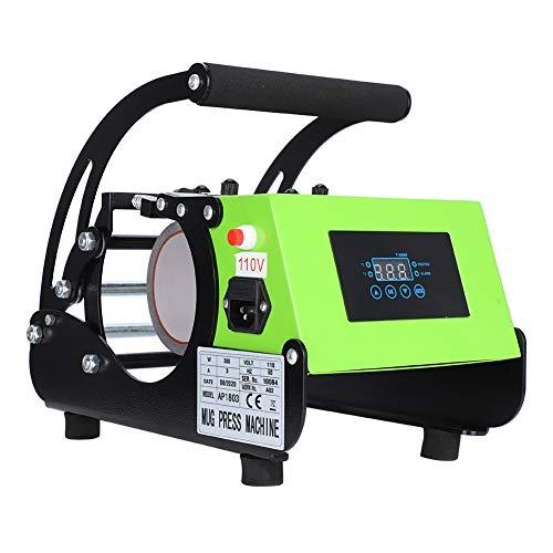 Komopesu Máquina de Transferencia de Calor de Tazas de Máquina de Transferencia de Calor de Tazas Máquina de Impresión de Tazas de Sublimación de Tazas de Café (Estándar Europeo)