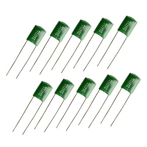 10 Stück Grüne E-Gitarre Tonkondensatoren 0.047 / 2A473J E-Gitarren-Teile