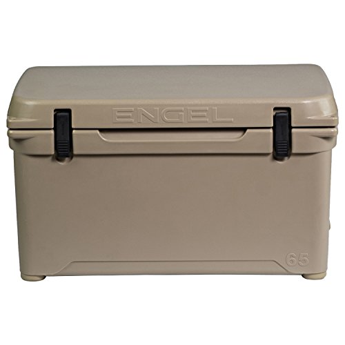 ENGEL ENG65 High Performance Cooler - Tan, 65 High Performance Hard Cooler and Ice Box