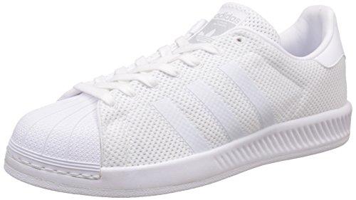 adidas Superstar Bounce, Scarpe da Basket Uomo, Bianco (Ftwwht/Ftwwht/Ftwwht), 44 EU
