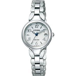 [シチズン]CITIZEN 腕時計 EXCEED エクシード Eco-Drive エコ・ドライブ 電波時計 ES8040-54A レディース
