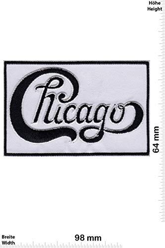 Chicago Jazzrock Band Patch Badge Applique Geborduurd Ijzer op