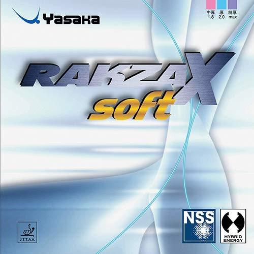 Yasaka Belag Rakza X Soft Optionen 1,8 mm, schwarz