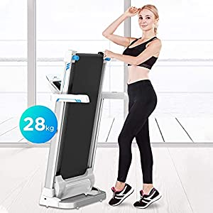 XUnion Folding Electric Treadmill LCD Display Motorized Running 2.0HP Treadmills Home Gym Workout Fitness