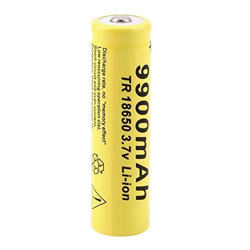 THENAGD Batería Li-Ion De 18650 3.7v 5000mah, Recargable para La Linterna Llevada 4PCS