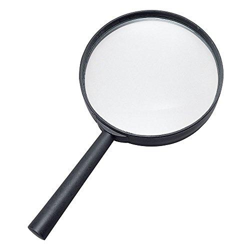Bristol Novelty BA950 Detektiv Lupe, Unisex– Erwachsene, Schwarz, Einheitsgröße