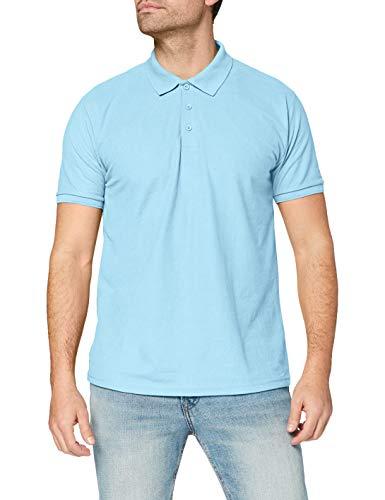 Fruit of the Loom Raglan Sleeve - Polo para hombre, color azul (bleu ciel), talla X-Large
