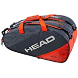 Head Paletero Elite Supercombi Rojo 2020, Adultos Unisex, Gris Naranja, EU