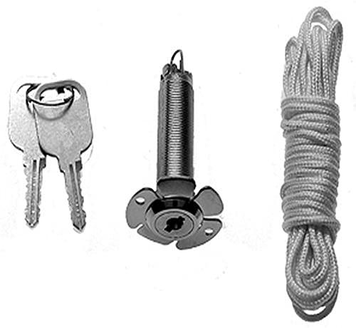 Hörmann 437149 Notentriegelung NET3, 13mm, 1,5m Seil, f.doppelw. Sec-Tore