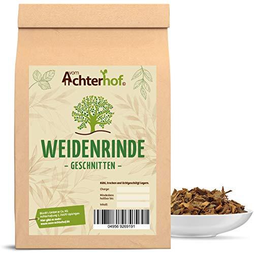 Weidenrinde geschnitten Weidenrindentee vom-Achterhof 500 g