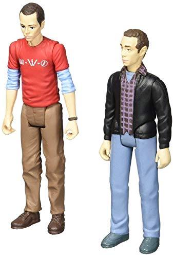 Bif Bang Pow! The Big Bang Theory Sheldon & Stuart Figures -Con. Exclusive
