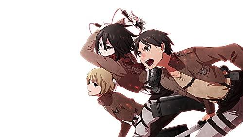 Empire - Póster de la web Shingeki No Kyojin Mikasa Ackerman Eren Jeager Armin Arlert (12 x 18 pulgadas), multicolor W-5660
