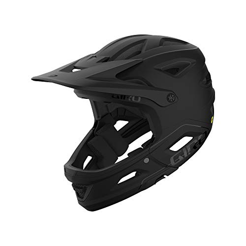Giro Switchblade MIPS, Casco Uomo, Matte Black Gloss Black, Medium