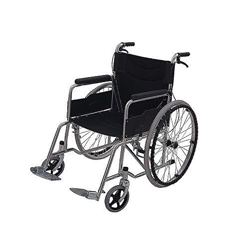 ICVDSRG Opvouwbare rolstoel De Ouderen Versterken De Rolstoel voor gehandicapten, Verhoog de Rugleuning Rolstoel