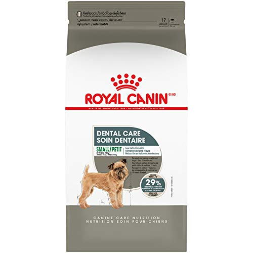Royal Canin Dental Care Dry Food for Small Dogs, 17 lb. Bag