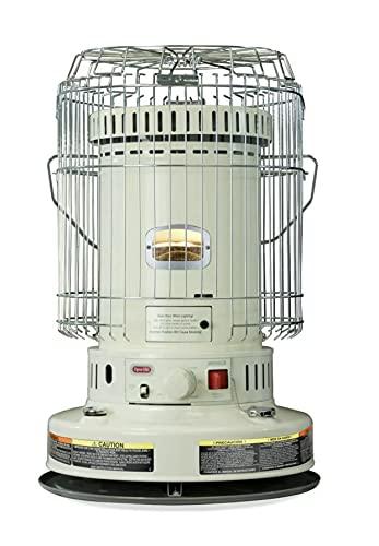 Dyna-Glo 23.8K BTU Indoor Kerosene Convection Heater, Ivory