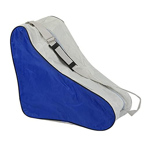 lefeindgdi - Borsa per pattini a rotelle, borsa per ghiaccio e skate, in tela e spiaggia, borsa per pattini a rotelle, per bambini e bambine, grande capacità, 40 x 20 x 39 cm