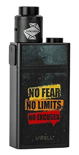 Blocks E-Zigaretten Set - Squonk-Funktion - max. 90Watt - von Uwell - Farbe: schwarz