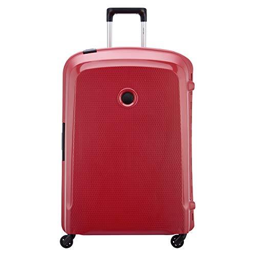 Delsey Belfort 3 - Maleta con 4 ruedas (76 cm), rojo (Rojo) - 00384382104