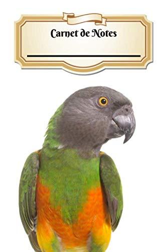 Carnet De Notes: Perroquet Youyou | Oiseau | A5 139 Pages Avec Papier Pointillé | Bullet Journal | Art Notes | Cahier | Dotted Journal | Notebook | Espace pour votre nom, classe, cours