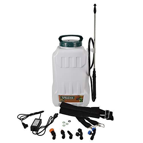 電動噴霧器 20L 充電式 背負式 バッテリー式 除草剤 充電 背負い 害虫駆除 農薬 消毒 除草 肥料 散水 家庭用 動噴 国華園