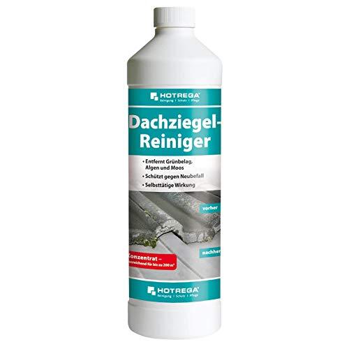 HOTREGA Dachziegel Reiniger Konzentrat - Dachreiniger, Ziegelreiniger 1 Liter