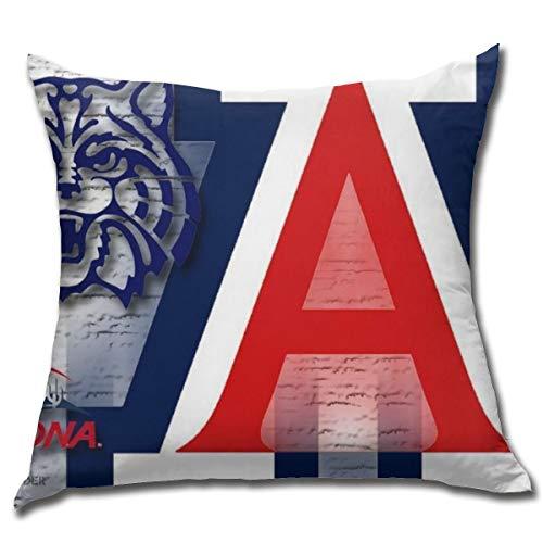 Fremont Die Arizona Wildcats Square Pillow Square Decoration,Pillow,Pillowcase,Bed Home Decoration,Cushion Cover,Home Decor Unique 18x18 Inches