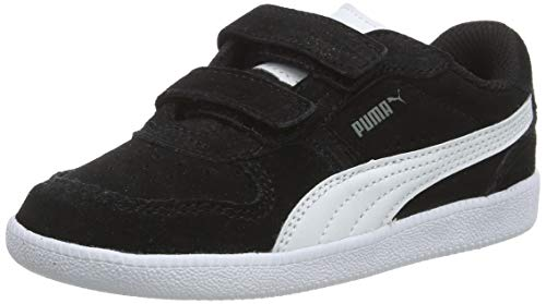 PUMA ICRA Trainer SD V INF, Unisex-Kinder Sneaker, Schwarz (Black-White 07), 21 EU (4.5 UK)