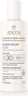 Adcos Filtro Solar Fluid FPS30 Peles Oleosas e Acneicas 120ml