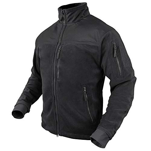 CONDOR 601-002-M ALPHA Micro Fleece Jacket Black M
