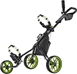 Caddytek CaddyLite 11.5 V3 3 Wheel Golf Push Cart - Superlite Deluxe, Lightweight, Easy to Fold...