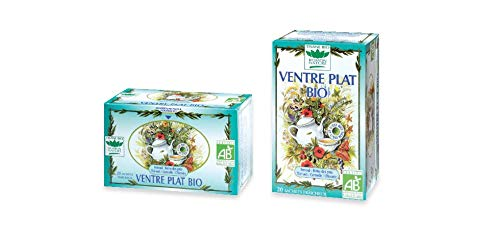 Romon Nature- Tisane Bio Ventre plat. 2 boites de 20 sachets