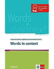 Words in context: Thematischer Oberstufenwortschatz Englisch