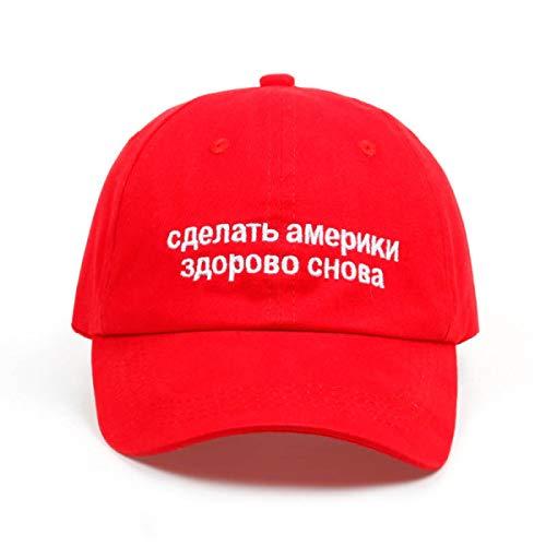 Trump hat- hat- hat- America Great Again Russian dad Hat Baldwin Trump Red Baseball Red