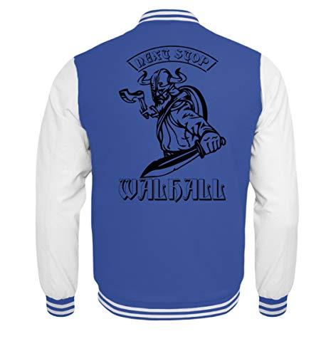 Next Stop Walhall   Wikinger Walhalla Thor Odin Valhalla Rocker Biker Geschenkidee Asatru - Kinder College Sweatjacke