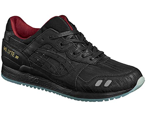ASICS Gel-Lyte III Lacquer Pack Unisex Sneaker Farbe: Schwarz (9090); Größe: EUR 45 | US 11 | UK 10
