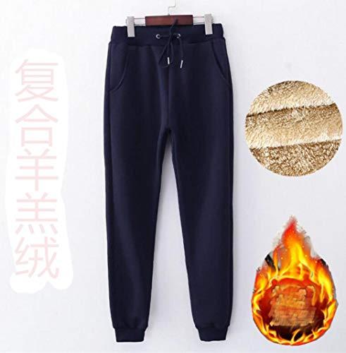 Autumn Sportbroek voor dames, street, casual, warme, zachte joggingbroek, solide elastiekband, taille, joggers, vrouwen