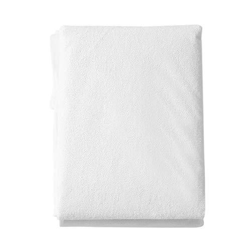 Bubbry matrasbeschermer, ademend, waterdicht, comfortabel, beschermt het laken