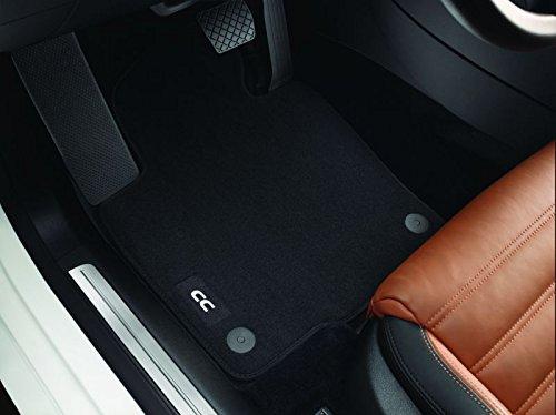 Volkswagen Tapis de Sol Velours Passat CC Original VW Premium 4pièces Noir