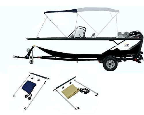 Carvid Marine Kit de Extensión para Toldo Bimini. Colores Azul Navy y Beige.